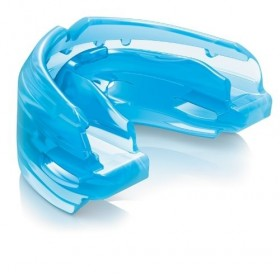 Protector Bucal Hockey Doble para Brakets Shock Doctor Azul