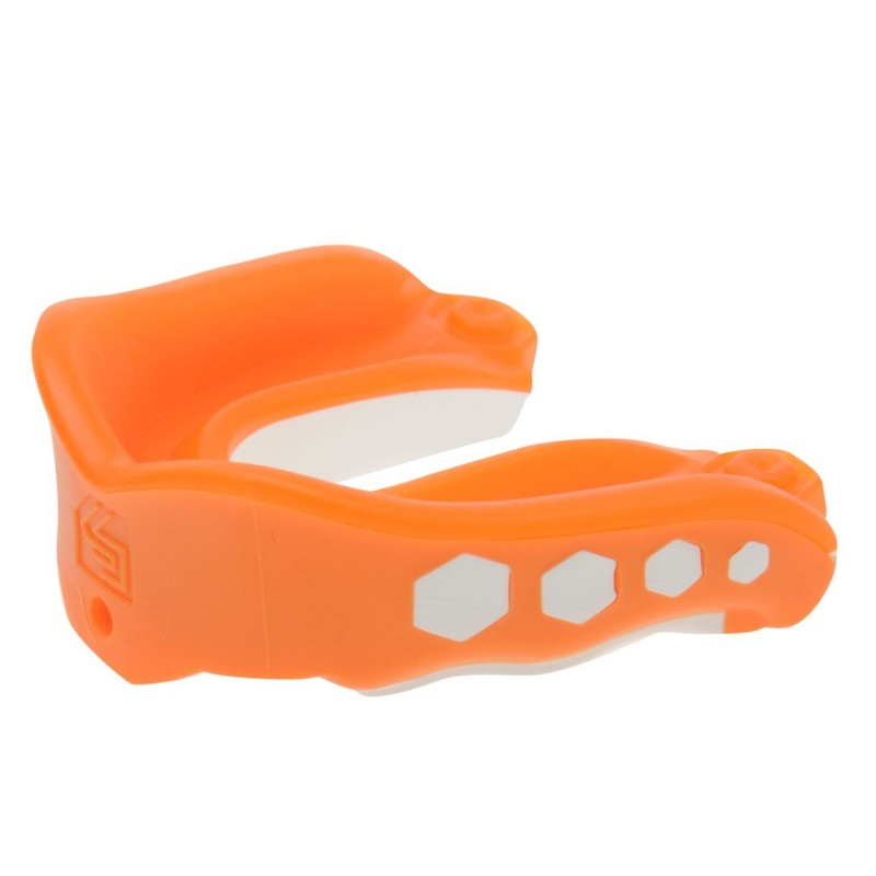 Protector Bucal Hockey Shock Doctor Gel Max Flavour Fusion Sabor Naranja
