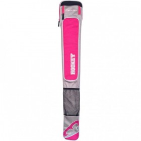 Bolsa de Hockey Mercian Element Plata-Rosa