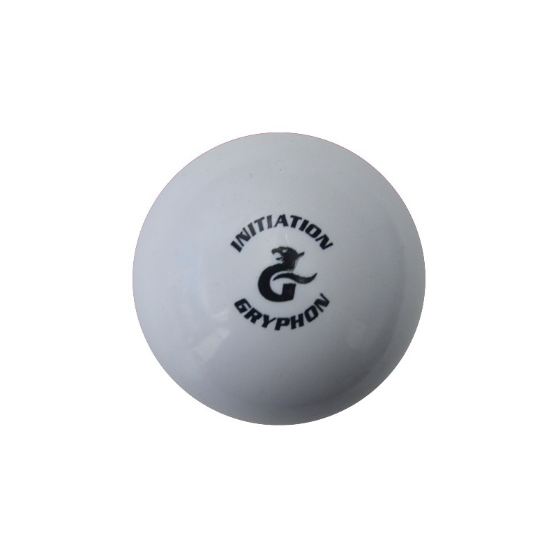 Bola de Hockey Gryphon Smooth Initiation White