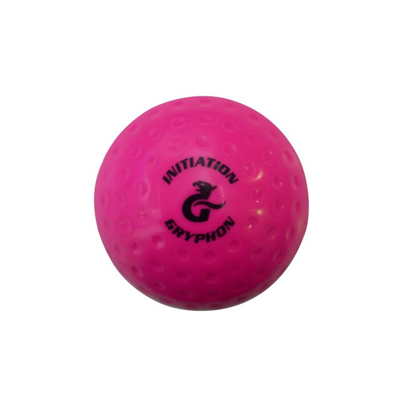 Bola de Hockey Gryphon Dimpled Initiation Rosa