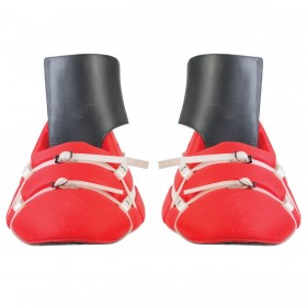 Kickers para porteros de Hockey TK Total Two 2.1 Rojo-Blanco