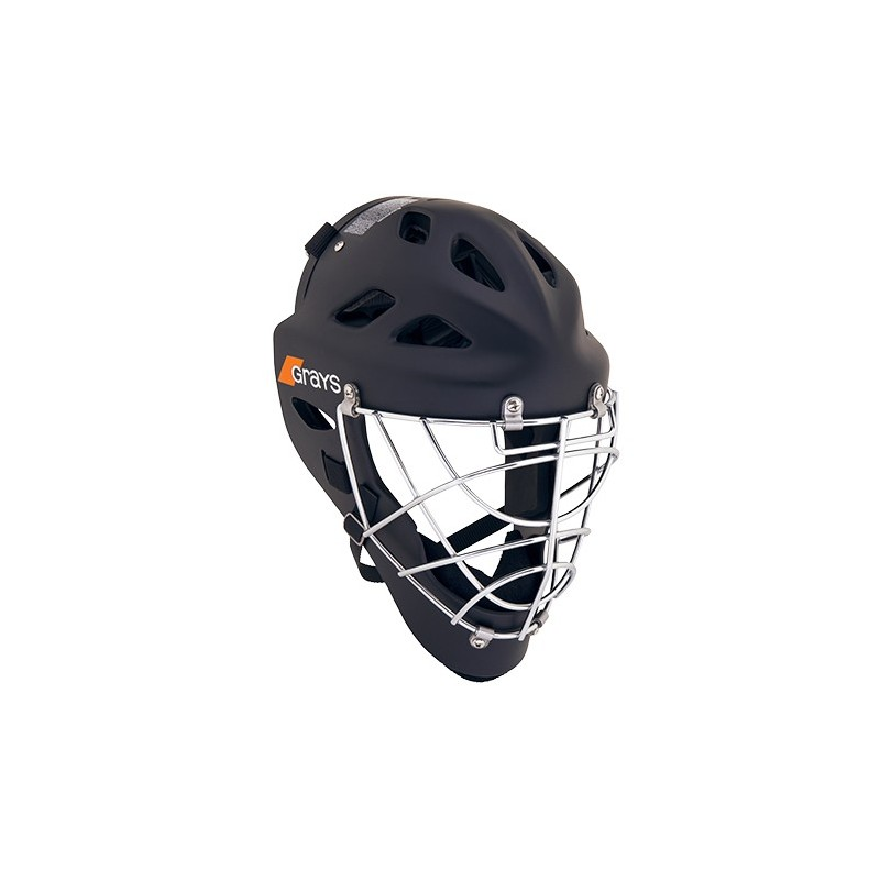 Casco para porteros de Hockey Grays G600 Negro Mate