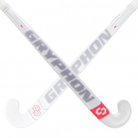 Stick de Hockey Gryphon CHROME Solo Pro Blanco