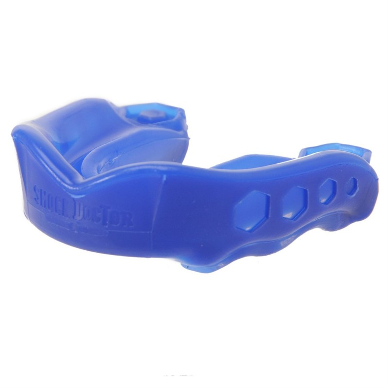 Protector Bucal Hockey Doctor Gel Max Azul 2