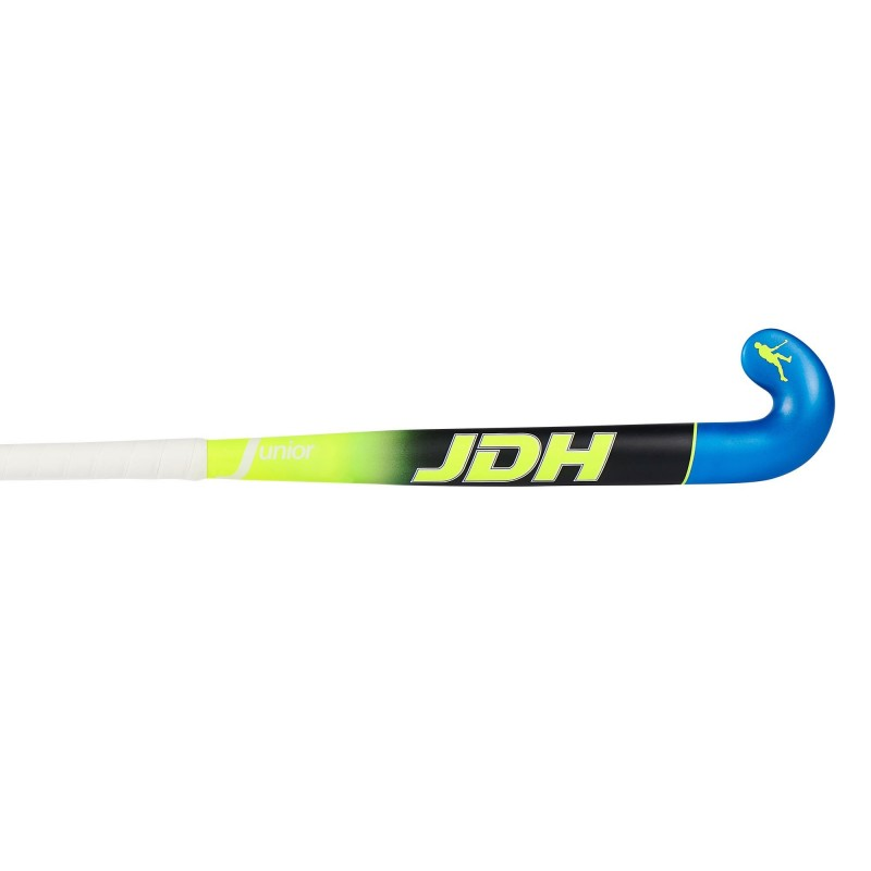 Stick de Hockey JDH Junior Amarillo-Negro