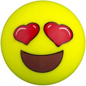 Bola de Hockey Grays Emoji Corazones en los ojos