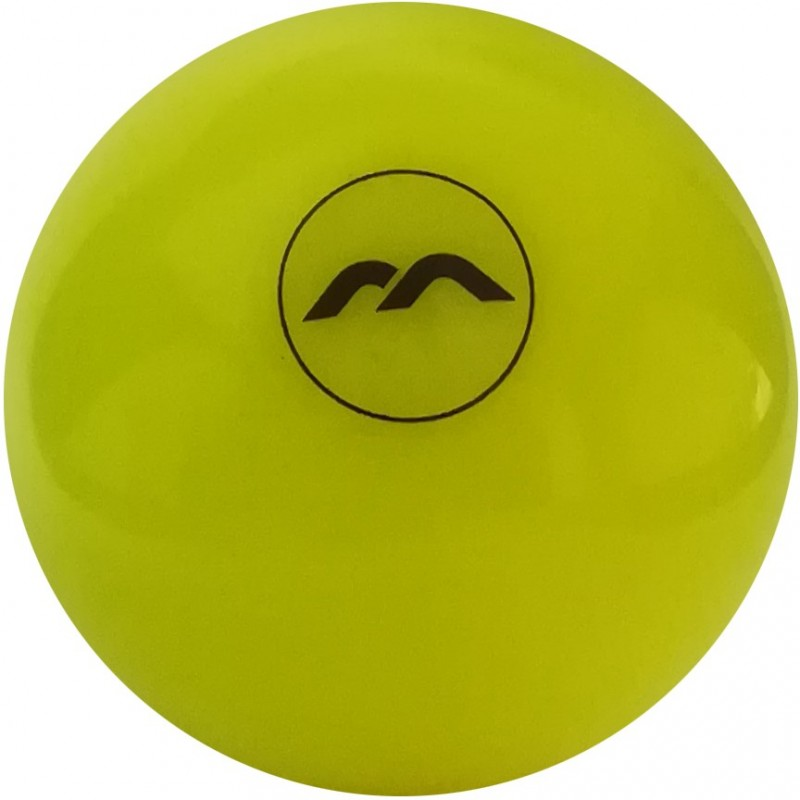 Bola de Hockey Mercian Yellow Smooth