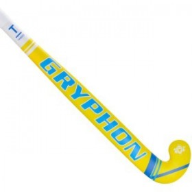 Stick de Hockey Indoor Gryphon Taboo Magnum Pro Junior Amarillo