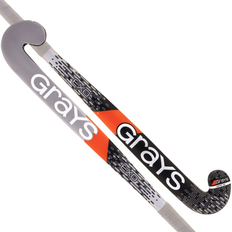 Stick de Hockey Indoor Grays Exo Negro-Plata