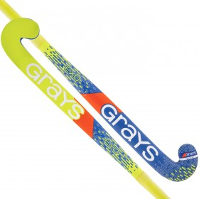 Stick de Hockey Indoor Grays Exo Negro-Plata