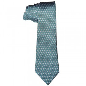 Corbata con motivo de Hockey Yeock Head Up