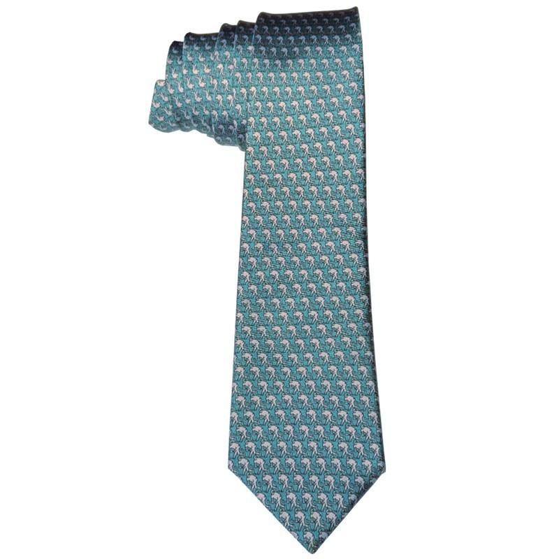 Corbata con motivo de Hockey Head Up