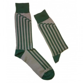 Calcetines con motivos de Hockey Yeock Vertical Verde