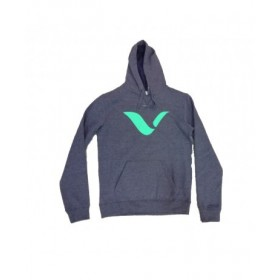 Sudadera de Reves Battle Gris-Verde
