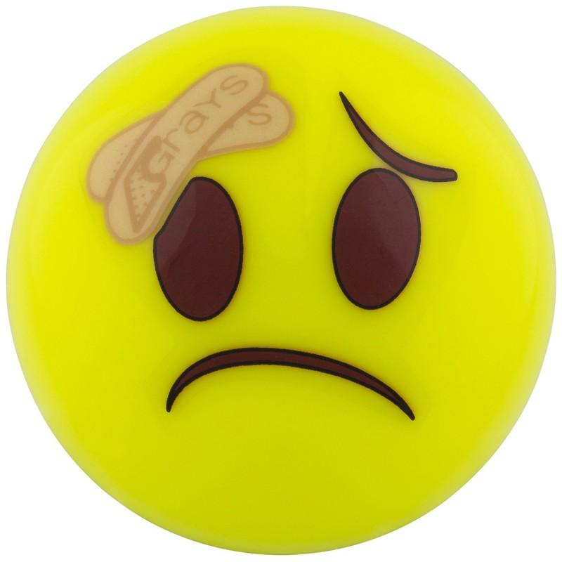 Bola de Hockey Grays Emoji Herido