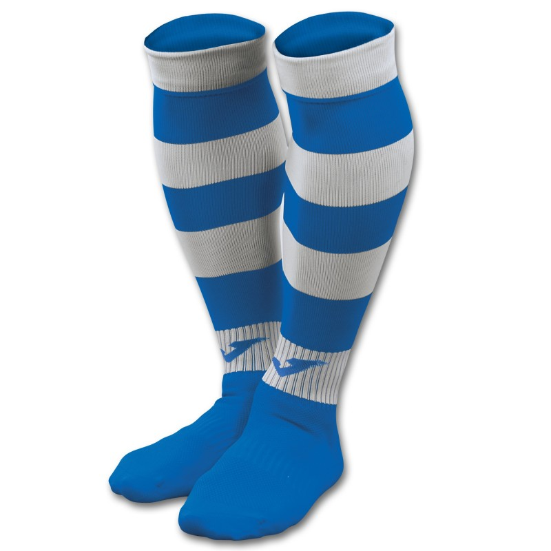 Medias Joma Zebra II Azul-Blanca
