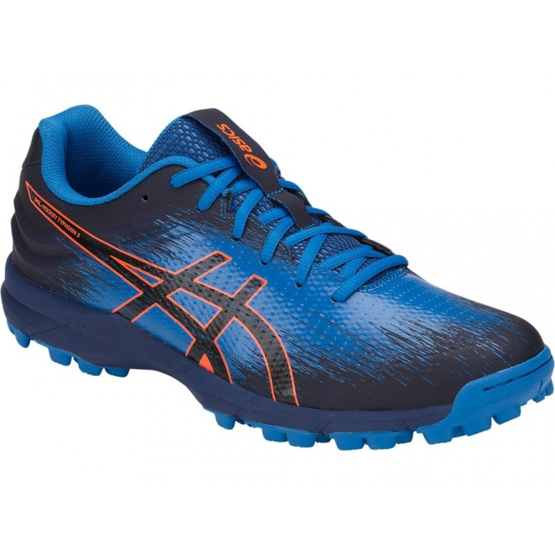 Zapatillas de Hockey Asics Typhoon 3 Azul