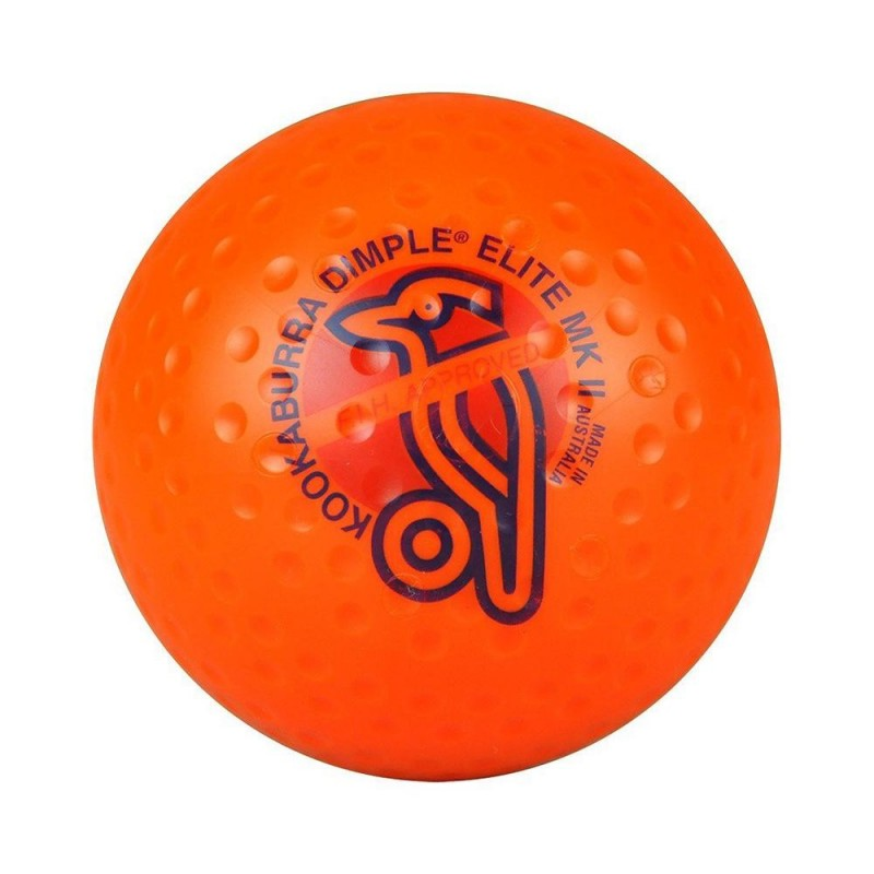 Kookaburra Ball Dimpled Elite Orange