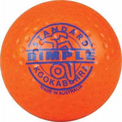 Kookaburra Ball Dimpled Standard Orange
