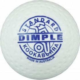 Kookaburra Ball Dimpled Standard White