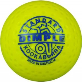 Kookaburra Ball Dimpled Standard Yellow