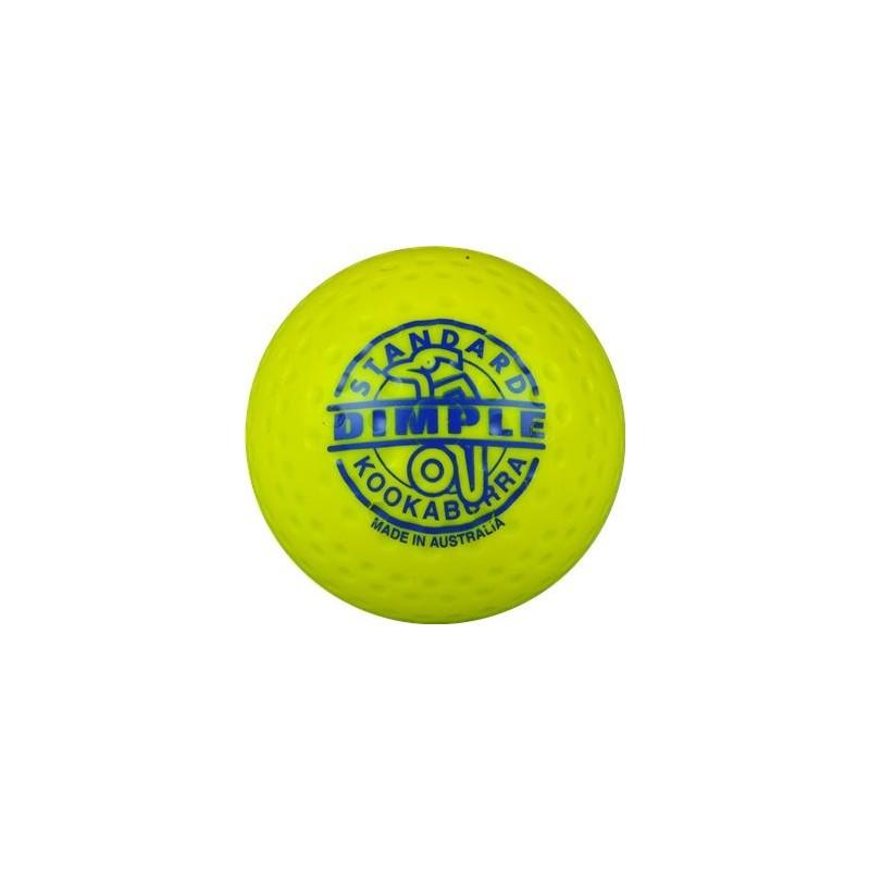 Kookaburra Ball Dimpled Standard Yellow