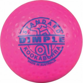 Kookaburra Ball Dimpled Standard Pink