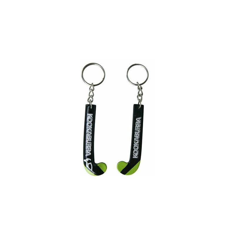 Kookaburra Stick Key Ring Black