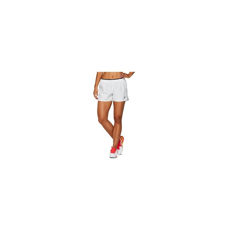 Asics Practice W Shorts Brilliant White