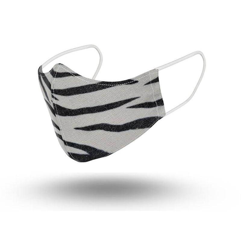 Mascarilla Mujer Reutilizable Zebra 2