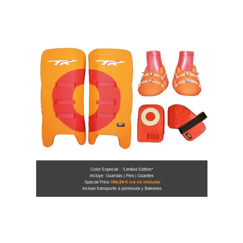 TK Set Portero 3.1 Colores Especiales Naranja-Rojo