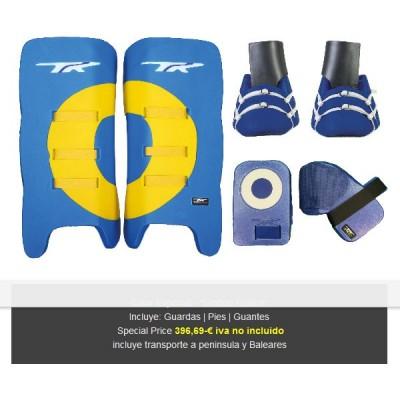 TK Set Portero 3.1 Colores Especiales Azul-Amarill