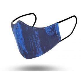 Mascarilla Hombre Reutilizable Neo Blue 2