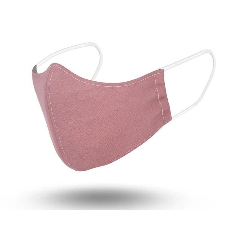 Mascarilla Niños Reutilizable Pink Powder 2 6-9