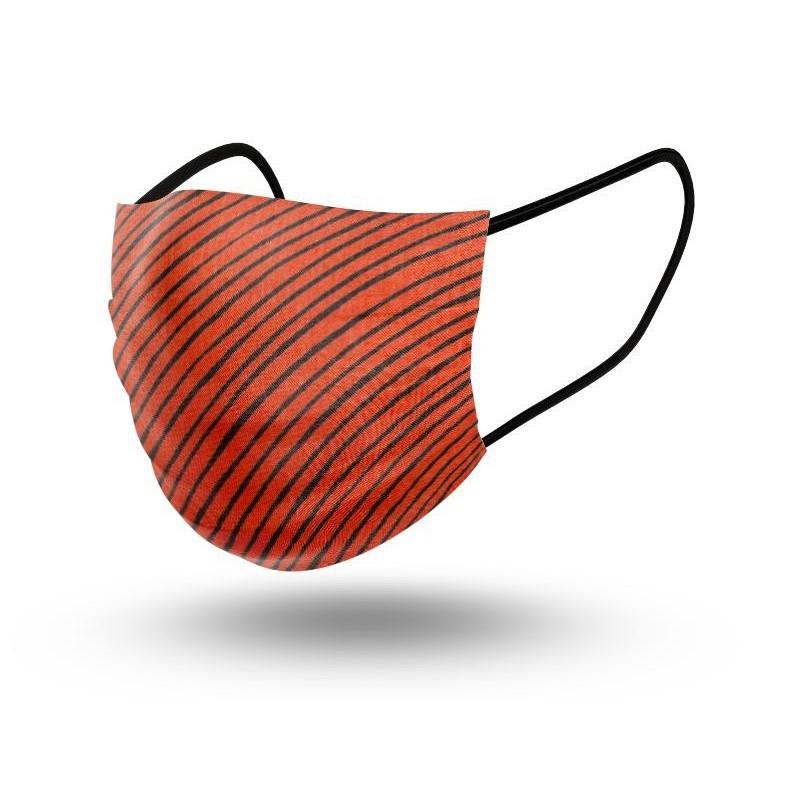 Mascarilla Niños Reutilizable Red Stripes Little 2